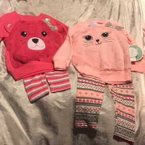 Brand new with tags 18m bundle matching minky sets